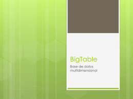 BigTable - Asteriscus.com
