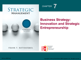 Strategic Management 1e - UIUC College of Business
