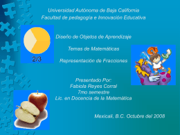 Diapositiva 1 - Las Matematicas