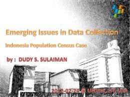 UNSD Presentation - Statistics Division