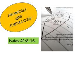 PROMESAS QUE FORTALECEN