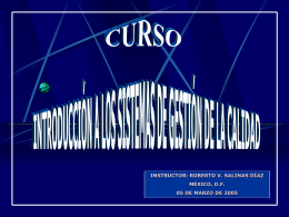 CURSO AUDITORES INTERNOS