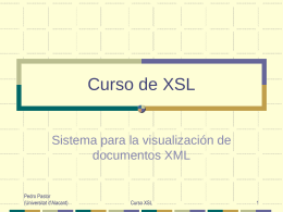Arquitectura XML