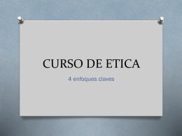 CURSO DE ETICA