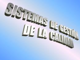 CURSO DE IMPLANT. DE UN SIST. ISO 9000 (CAP. 1)