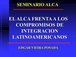 SEMINARIO ALCA