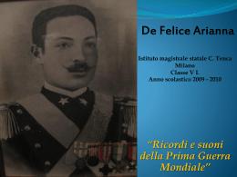 Arianna De Felice