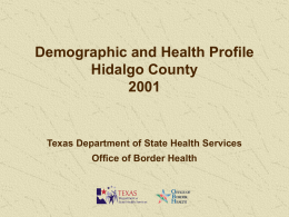 2001_Hidalgo_County_Profile - Texas Department of State