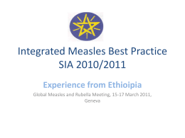 Evaluation and Implementation of the Best Practices for
