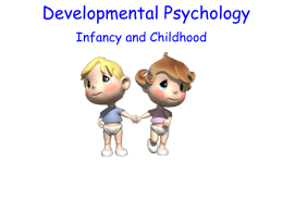 Developmental Psychology - San Marcos Unified School …