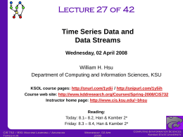 CIS732-Lecture-27-20080402 - Kansas State University