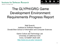 The Game Grid: Research Vision
