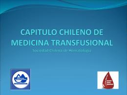 CAPITULO DE MEDICINA TRANSFUSIONAL