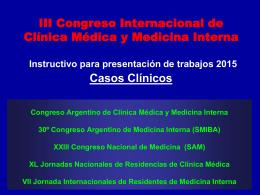 Sociedad Argentina de Medicina Instructivo para