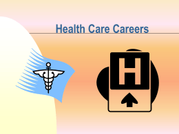 Health Care Careers - Utah Education Network