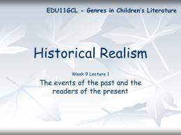 Historical Realism - La Trobe University