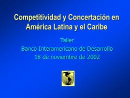 Competitividad El motor del crecimiento Informe de