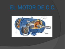 EL MOTOR DE C.C.