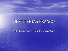 DESTILERIAS FRANCO