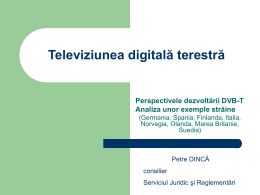 Televiziunea digitală terestră