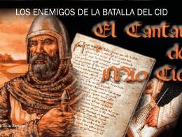 Los enemigod de batalla del cid - lite-espanola-para-gmk