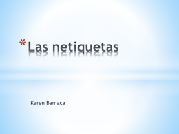 Las netiquetas - Instituto Guatemalteco Americano IGA …