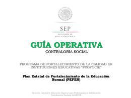 GUIA OPERATIVA