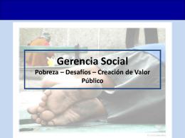 PPT Gerencia Social