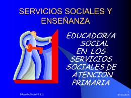 educaor/a social