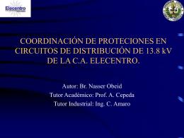 COORDINACION DE PROTECIONES EN CIRCUITOS DE …
