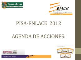 Agenda de acciones: Marzo