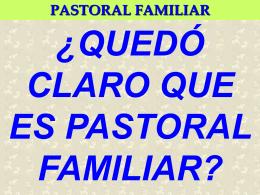 Diapositiva 1 - Pastoral Familiar de Guadalajara