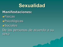 Sexualidad - COINCIDIR.ORG.GT