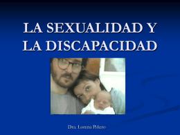 LA SEXUALIDAD Y LA DISCAPACIDAD