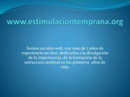 www.estimulaciontemprana.org