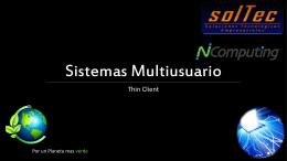 Sistemas multiusuario