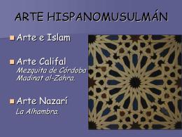 Arte e Islam  - IES JORGE JUAN / San Fernando