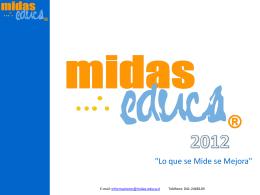 Diapositiva 1 - Midas