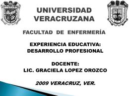 Diapositiva 1 - Desarrollo Profesional