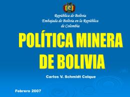 Diapositiva 1 - Colegio de Abogados de Minas y Petroleos