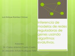 Inferencia de modelos de redes reguladoras de genes …