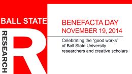 Benefacta Day November 10, 2010
