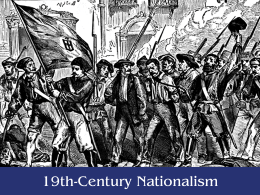 Define nationalism - Social Studies School Service
