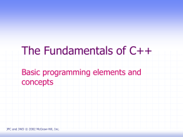 C++ Program Design 3rd Edition