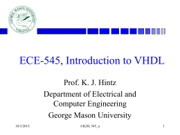 ece545_lecture_a - Welcome to the GMU ECE Department