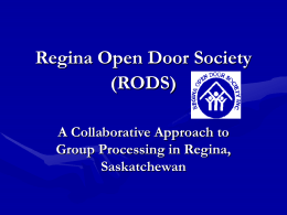 Regina Open Door Society Inc.