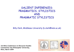 billy_nitra2009 - pragmatic stylistics