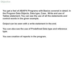 02-Basic Abap