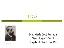 TICS - CETRAM | Centro de Trastornos del Movimiento