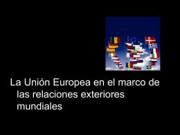 Relaciones exteriores s. XIX-XX